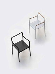 Rope Chair is a minimalist chair designed by Paris-based duo Ronan & Erwan Bouroullec for Artek Art Furniture, Furniture Design, Boconcept, Bauhaus, Marine Rope, Interior Minimalista, Swedish Brands, Art And Technology, Wall Hooks
