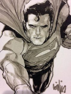 Superman by Leinil Yu *