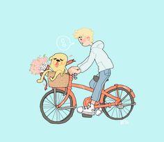 r0sie-p0sies: summer Adventure Time, Finn the Human, Jake the Dog