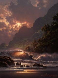 """""""Evening Ablaze"""" by Roy Gonzalez Tabora"""