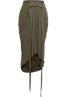 Rick Owens Drawstring Skirt - Fashion Fuss