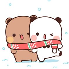 Love Cartoon Couple, Cute Cartoon Pictures, Cute Cartoon Drawings, Cartoon Profile Pics, Cute Love Cartoons, Cute Images, Panda Wallpapers, Cute Cartoon Wallpapers, Cute Panda Wallpaper