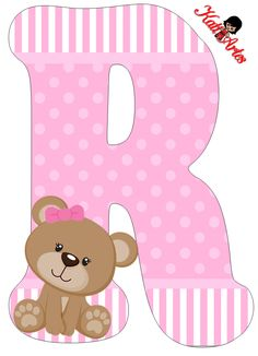 Uno Sfondo Di Baby Shower Per Ragazzo Scaricare . Alphabet Letter Templates, Alphabet And Numbers, Alphabet Letters, Letras Baby Shower, Moldes Para Baby Shower, Diy And Crafts, Paper Crafts, Baby Shawer, Bear Party