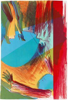 Allen, Jones 1937 Southampton - lebt und arbeitet in London Lithograph in colors Southampton, Allen Jones, London, Global Art, Prismacolor, Art Auction, Art Market, Printmaking, Pop Art