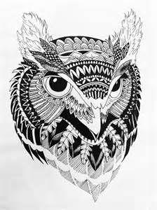 Zentangle Art Animals Zentangle07 2311o05 jpg