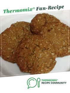 Recipe Chewy Anzac Biscuits by AliceErin, learn to make this recipe easily in your kitchen machine and discover other Thermomix recipes in Baking - sweet. Chewy Anzac Biscuits Recipe, Biscuit Recipe, Thermomix Desserts, Dessert Recipes, Eggless Baking, Anzac Day, Recipe Community, How Sweet Eats, Tray Bakes