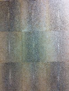 Faux painted Shagreen MJP Studios CT NYC http://mjpfaux.com/