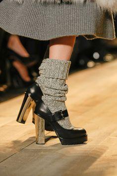 Michael Kors: Aren't you suddenly feeling nostalgic for your kindergarten Mary Janes!? #shoes #platforms