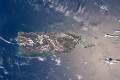 Puerto Rico From the Space Station via NASA...