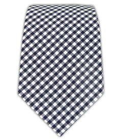 Petite Gingham - Navy (Cotton)