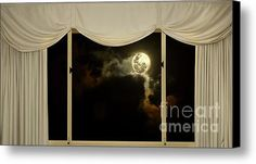 Romantic Evening At Home By Kaye Menner Canvas Print / Canvas Art By Kaye Menner