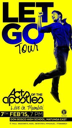 Book your passes here: http://tinyurl.com/letgotour  #mumbai #music #concert #band #rockshow #letgo #letgotour