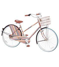 Missoni cruiser bike.. I want!