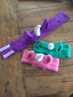 Fleece Crafts, Fleece Projects, Fabric Crafts, Crochet Projects, Sewing Crafts, Sewing Projects, Unicorn Headband, Diy Headband, Flower Headbands