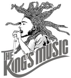The King's Music by Blaine Levy, via Behance