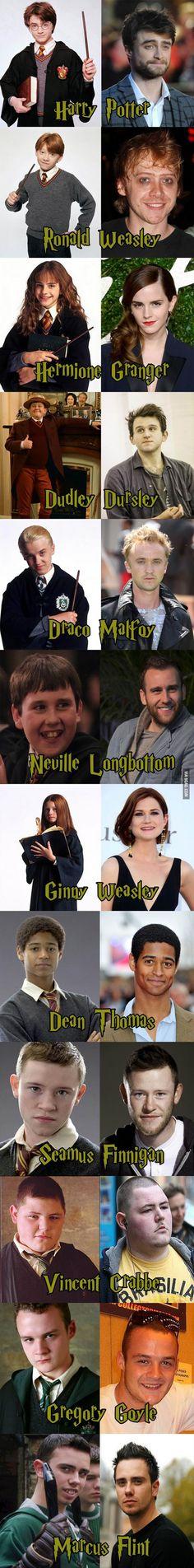14 ปีผ่านมา... เหล่านักแสดงในแฮรี่ พอตเตอร์  เป็นอย่างไรกันบ้างนะ....