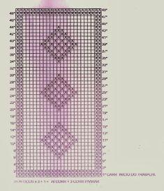 Artesanatos em Crochê Vanda: TAPETES EM CROCHÊ FILÉ COM GRÁFICO