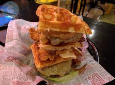 STAX DINER – AMERICAN FOOD If you're a burger aficionado and haven't been to Stax Diner, then you're not a burger aficionado.