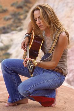 #1 on my list of girls that rock: Sheryl Crow