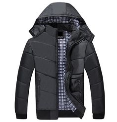 ANDYOU Mens Plus Size Warm Band Collar Hood Solid Color Padded Coat  Provides the finest and most stylish clothes which can be worn at any seasons.ImportedClick on ANDYOU brand name above title for more GREAT styles!…  Read More  http://dailydealfeeds.com/shop/andyou-mens-plus-size-warm-band-collar-hood-solid-color-padded-coat/