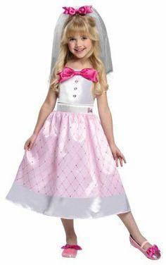 barbie bride costume small