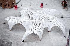Shellstar Pavilion by MATSYS I Like Architecture