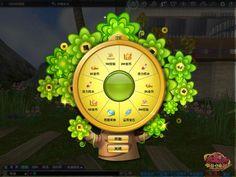 摇钱树转盘界面 Wheel Of Fortune, Ui Elements, Game Assets, Game Ui, Slot Machine, Online Casino, Game Design, Concept, Unity