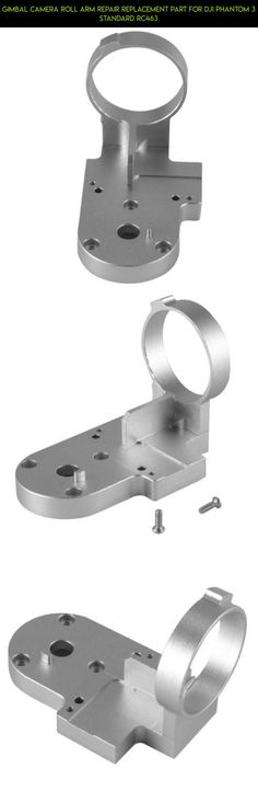 Gimbal Camera Roll Arm Repair Replacement Part for DJI Phantom 3 Standard RC463 #standard #kit #products #camera #technology #parts #phantom #tech #fpv #dji #gadgets #3 #drone #replacement #racing #plans #shopping #parts