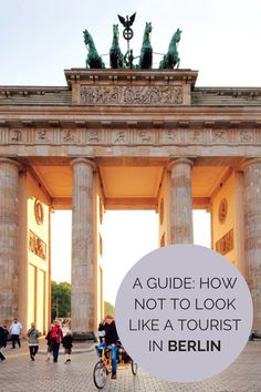 How Not to Look Like a Tourist In Berlin. I love Berlin. Oh The Places You'll Go, Places To Travel, Travel Destinations, Places To Visit, Travel Tips, Travel Packing, Solo Travel, Helsinki, Europe Centrale