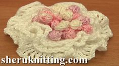 3D RUCHE PETAL FLOWER WITH STAMENS http://sheruknitting.com/videos-about-knitting/crochet-flower-lessons/item/724-3d-ruche-petal-flower-with-stamens.html With this video instructions you can make a flower with one layer of petal, with 2 layers or make a 3 layered flower. All variations are beautiful and can be used for a cute embellishment. Enjoy!