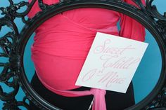 Bump Smitten: Real Baby Shower: Pink and Silver
