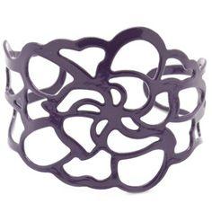 cute purple cuff bracelet - my price of $5.50 includes tax