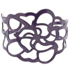cute purple cuff bracelet - my price of $5.50 includes tax