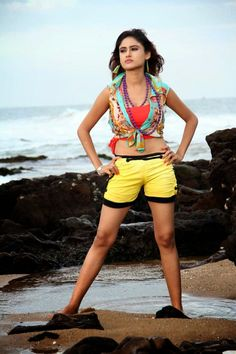 Sony Charista latest sizzling pics in Shorts | Cine Gallery Home of Bollywood, Tollywood, Kollywood, Sandalwood and Mollywood Film News and Gallery
