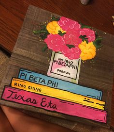 CUSTOM Sorority Wooden Canvas by EAMbyDesign on Etsy