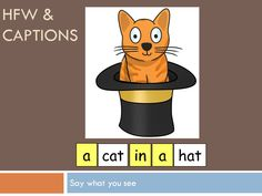 Lesson on phase 2 phonics for an SLD class, students are learning letters and sounds (start of set 3) and HFW through captions. pictures with captions and word cards to build the correct captions are included, as well as pictures to build the caption.