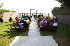Because Leslie Park overlooks the ocean in San Clemente. By Tara Sieling. #wedding #venue #officiant