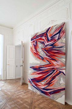Karim Noureldin - Evo for Tai Ping Carpets in the Paris showroom