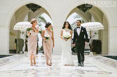 Real WhiteRunway Wedding