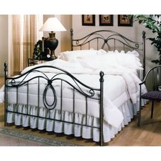 Milano Bed - King Size headboard - on order - love that it's a pewter finish!