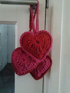 Grote harten van My Boshi wol