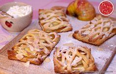 Sfogliatine alla mela - apple puff pastry tarts - Mytaste.com
