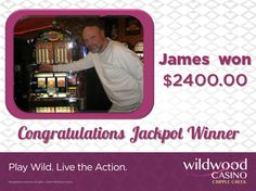 Congratulations to James – he took home a sweet $2,400 jackpot! Jackpot Winners, Jukebox, Congratulations, Sweet, Candy