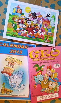 """Libri e Recensioni : """"Geo and Company"""" -  Nuovi fumetti per bambini fir..."""