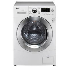 LG Electronics 2.3 cu. ft. Washer and Electric Dryer in White