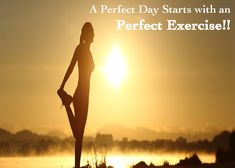 Morning #Exercise Rejuvenates your #Body which helps you to #Stressless all day long.