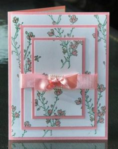 Birthday Wishes Flowers Pretty Cards 49 Trendy Ideas Homemade Greeting Cards, Making Greeting Cards, Greeting Cards Handmade, Homemade Cards, Hand Made Greeting Cards, Birthday Cards For Women, Handmade Birthday Cards, Female Birthday Cards, Birthday Diy