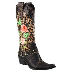 Leopard cowgirl boots... I NEED THESE!!