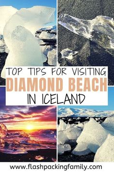 The best guide for visiting Diamond Beach in Iceland, including best time to visit Diamond Beach and safety tips | things to do in Iceland | Iceland travel | Iceland itinerary | Iceland things to do | Iceland travel tips | Iceland travel guide | what to do in Iceland | Jokulsarlon Glacier Lagoon | Diamond Beach Iceland