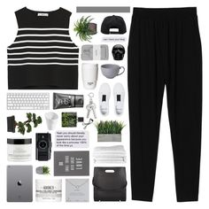 """ineffable"" by randomn3ss ❤ liked on Polyvore featuring Monki, Zara, Kiehl's, Alexander Wang, Warehouse, Dogeared, NARS Cosmetics, The White Company, Lux-Art Silks and ROOM COPENHAGEN"